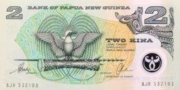 Papua New Guinea 2 Kina, P-16b (1996) - UNC - Papua Nuova Guinea