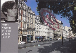 R720 - Rudolf NOUREEV 23 Quai Voltaire - PARIS - Danse Opéra - Arrondissement: 07