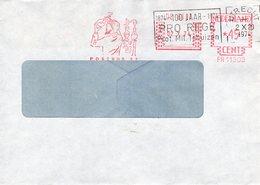 02 X 74  Roodfrankering  DE BILT Op Vensterenvelop Met Dagtekening Van Utrecht - Postal History