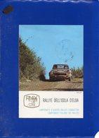 ##(DAN204)-Italia-Lotto 2 Cartoline Ufficiali 7°e 13° Rally Dell'isola D'Elba Con Annullo Speciale Della Manifestazione - Rally