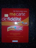 FRANCE CARTE A PUCE CHIP CARD CARTE FIDELITE LA FOIR'FOUILLE QUIMPER 29 NEUVE MINT - Gift And Loyalty Cards