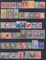 PAYS-BAS, NEDERLAND LOT TIMBRES °/Used, Oblitérés, Etats Divers, (Lot 1387) - Pays-Bas
