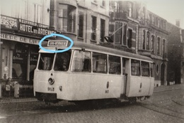 PHOTO TRAM SPA VERVIERS HOTEL DES ARDENNES  REPRO - Tramways
