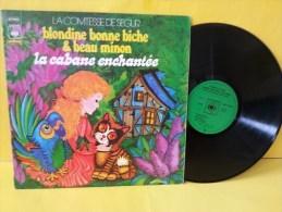 Comtesse De Ségur - 33t Vinyle - Blondine Bonne Biche & Beau Minon - Kinderlieder