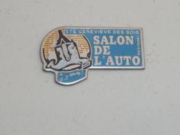 Pin's SALON DE L AUTO REGIONAL DE SAINTE GENEVIEVE DES BOIS - Pin's