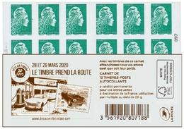 France 2020 Carnet Le Timbre Prend La Route Marianne L'engagée - 12v MNH/Neuf** - Usage Courant
