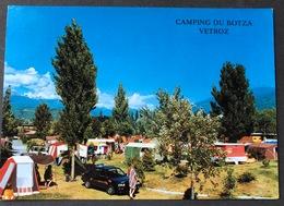 Vetroz Camping TCS Le Botza/ Oldtimer Auto - VS Valais