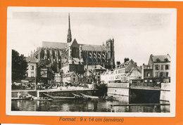 AMIENS - Le Marché Sur L'eau - La Cathédrale (21599) - Amiens