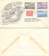 COVER TRAINS CANADA TORONTO 24.9.1951 / 1 - Treinen