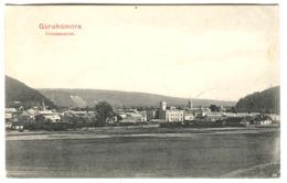 Bukowina, Bucovina - Gura Humorului, Gurahumora Totalansicht Panorama KuK Briefmarke 1907 - Roumanie