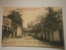 Dahomey, Porto Novo, Une Rue (A6p71) - Dahome