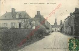 53. AMPOIGNE .  Rue Principale . - France