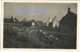 Campagne De France 1940 - L'exode - Linge Abandonné - Westfeldzug - Guerre, Militaire