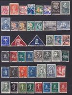 PAYS-BAS, NEDERLAND LOT TIMBRES °/Used, Oblitérés, Etats Divers, (Lot 1388) - Collections