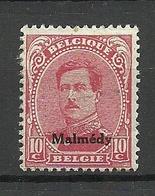 BELGIEN Belgium Malmedy 1920 Michel 4 * - Belgium