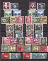 BRD - 1957/58 - Sammlung - Postfrisch/Ungebr./Gest. - BRD