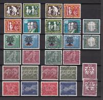 BRD - 1959/60 - Sammlung - Postfrisch/Ungebr./Gest. - BRD