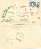 COVER TRAINS SOUTH AFRICA - PRETORIA 2.5.60 TO ALGER  / 1 - Treinen