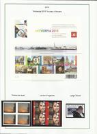 Belgique Année 2010 Complète Et Neuve Sans Charnière ** (voir Descriptif) - Belgique
