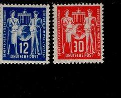 DDR 243 - 244 Weltgewerkschaftsbund  Postfrisch ** MNH Neuf - DDR