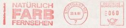 Freistempel 8630 Farbfernsehen - Marcophilie - EMA (Empreintes Machines)