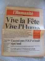 Journal L'humanité 1993 - Journaux - Quotidiens