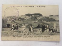 CPA MAROC - GUERCIF - La France Au Maroc Oriental - Vue Générale Des Ruines De La Casba Réoccupée Par Les Kheimas - Altri