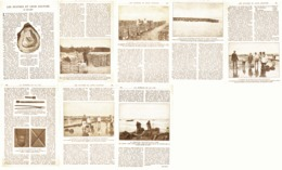 LES HUITRES Et Leur CULTURE ( BASSIN D'ARCACHON  ) 1921 - Aquitaine