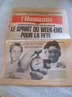 Journal L'humanité 1990 - Journaux - Quotidiens