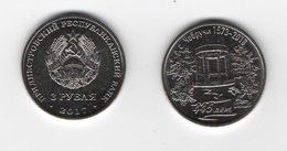 Transnistria - 3 Rubles 2018 UNC 445 Years Old With Chobruchi  Lemberg-Zp - Moldavië