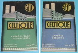 Rare Carnet Calepin Publicitaire Pub CELTIQUE Caporal Cigarettes Tabac, Bar Café Bistro Bistrot épicerie - Documents