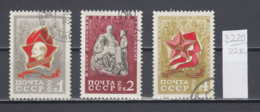 22K3220 / 1970 - Michel Nr. 3795-3797 Used ( O ) Soviet Pioneer Organization Lenin With Children , Russia Soviet Union - 1923-1991 USSR