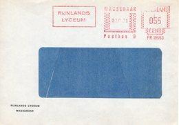 23. IX 79 Roodfrankering Wassenaar Op Vensterenvelop Met Firmalogo - Postal History