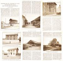 LES MAISONS De PAILLE   1921 - Autres