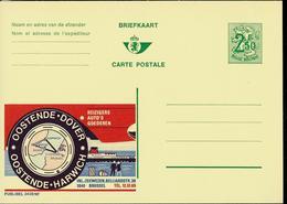 Publibel Neuve N° 2438 ( OOSTENDE - DOVER Ou HARWICH) - Werbepostkarten
