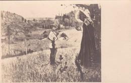 THE VISION TO THE YOURH BARTHOLOMEW, MIJAIL NESTEROV. FOT V KRYLATOV. PEINTURE POSTALE CIRCA 1915's NON CIRCULEE -LILHU - Peintures & Tableaux