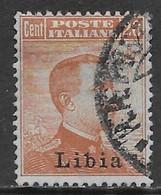 Italia Italy 1918 Colonie Libia Michetti Destra C20 Sa N.20 US - Libië