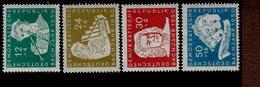 DDR 256 - 259 Johann Sebastian Bach  Postfrisch ** MNH Neuf - DDR