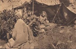 CPA (seins Nus  ) L Afrique Du  Nord  La Belle  Dans Son Gourbi (b.bur Theme)   Parfait Etat - Africa Del Norte