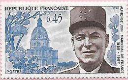 France: N°1630 ** Maréchal Juin - Unused Stamps