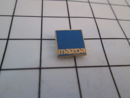 1115A Pin's Pins / Beau Et Rare / THEME : AUTOMOBILES / MINI PIN'S LOGO MAZDA - Pin's