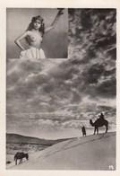 PHOTO 6.5X9 (seins Nus  )  Jeune Fille (b.bur Theme)    Parfait Etat - Africa Del Norte