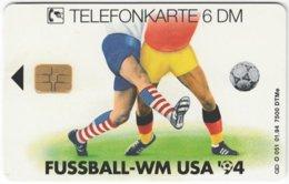 GERMANY O-Serie B-887 - 051 01.94 - Event, Sport, Soccer, World Cup '94 - MINT - Deutschland