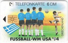 GERMANY O-Serie B-890 - 2362 11.94 - Event, Sport, Soccer, World Cup '94 - MINT - Deutschland