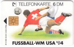 GERMANY O-Serie B-891 - 469 03.94 - Event, Sport, Soccer, World Cup '94 - MINT - Deutschland