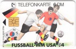 GERMANY O-Serie B-894 - 466 03.94 - Event, Sport, Soccer, World Cup '94 - MINT - Deutschland