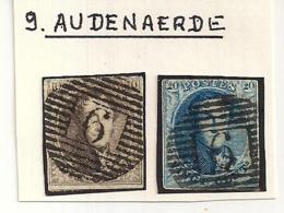 P9 AUDENAERDE NR.6+7 - 1851-1857 Médaillons (6/8)
