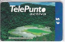 TARJETA DE EL SALVADOR DE LA LAGUNA DE LA ALEGRIA $5 (NUEVA-MINT) - El Salvador