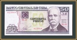 Cuba 50 Pesos 2014 P-123 (123i) UNC - Cuba