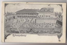 Sint Mariaburg - Hotel Zwemdok - 1906 - Piscine - Illustration - Antwerpen - Antwerpen